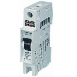 Disjuntor Monofásico 10A Curva C 5SX1 110-7 Siemens