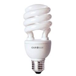 Lâmpada Fluor. Spiralux Branca Fria 33W  220V Ourolux